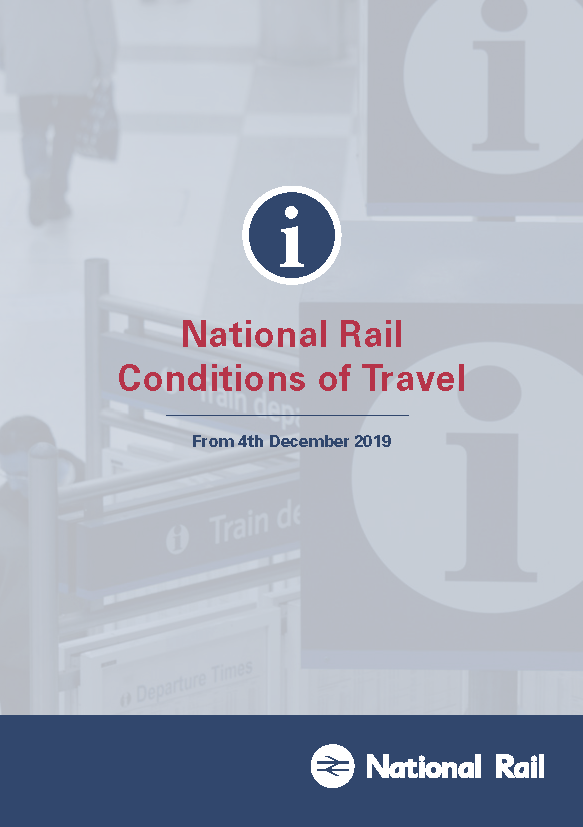 National Rail Conditions of Travel December 2019