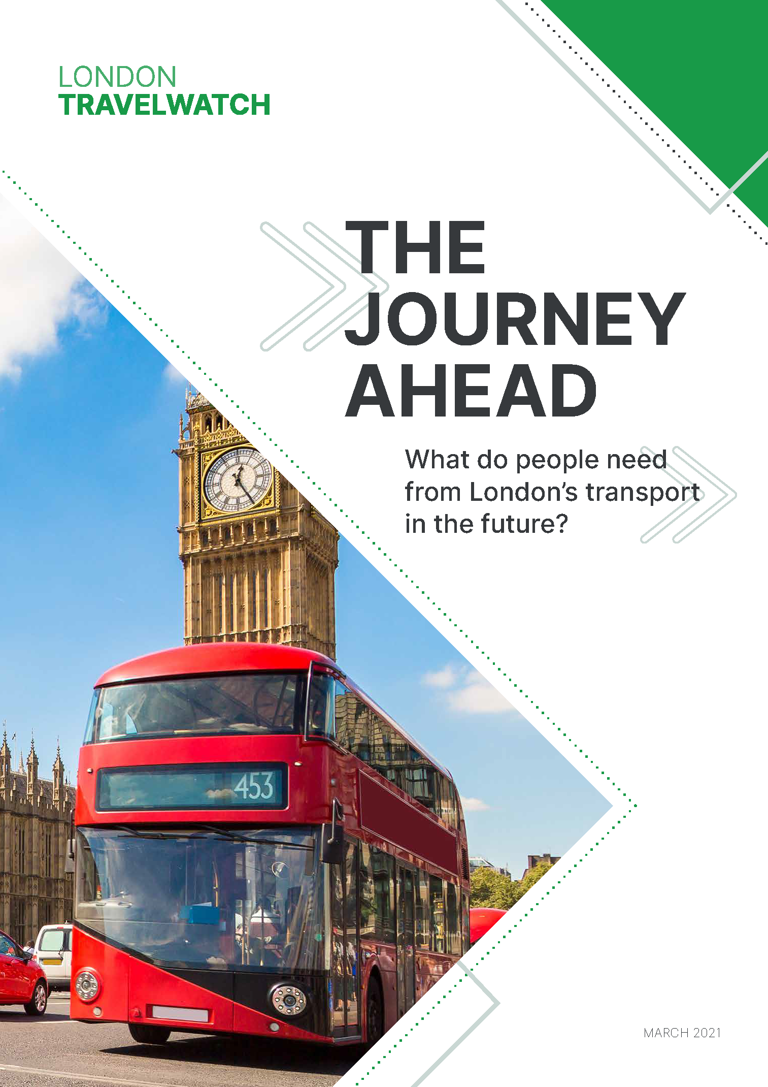 The Journey Ahead Report Front Page